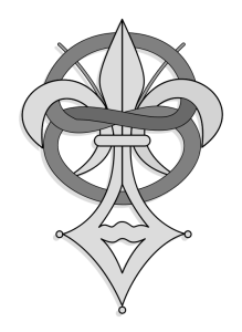 The official emblem of the Priory of Sion is p...