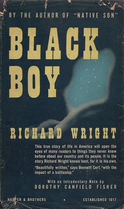Cover of Richard Wright's Black Boy.