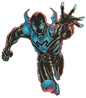 Jaime Reyes. Promotional art for Blue Beetle v...