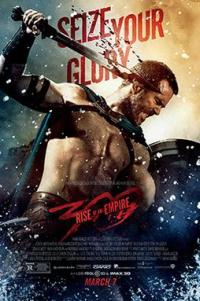 Poster for 2014 action-fantasy 300: Rise of an Empire