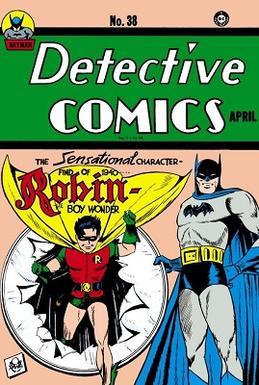 Detective Comics #38 (April 1940), the first a...