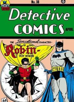 Detective Comics #38 (April 1940), Robin, Jerry Robinson