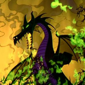 Maleficent's dragon form as it appears in the ...