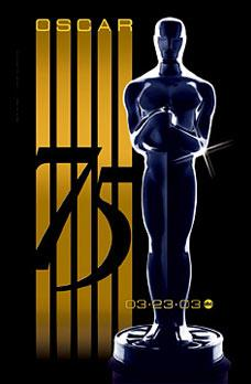 Poster for 75th Academy Awards, 2003