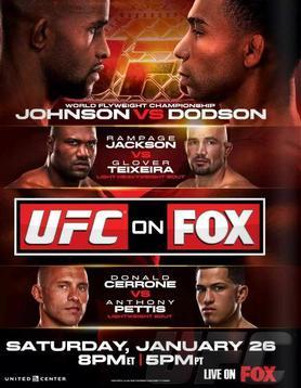 UFC on FOX 6 poster
