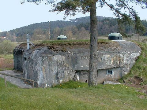 Maginot Line, The Defensive Line facing Germany (5/6)
