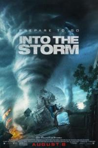 Poster for 2014 disaster thriller Into the Storm