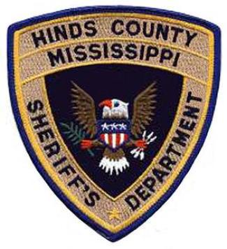 Hinds County Sheriff Department patch