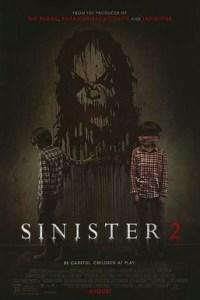 Poster for 2015 horror sequel Sinister 2
