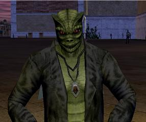 A Trandoshan from Star Wars Galaxies.