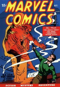 Marvel Comics #1 (Oct. 1939), the first comic ...