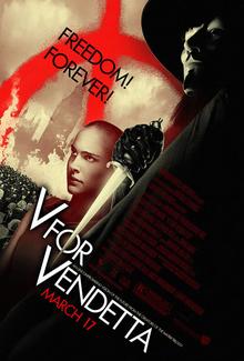 Cartel de V de Vendetta