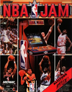 NBA Jam flyer