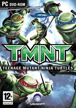 TMNT: Teenage Mutant Ninja Turtles Box Art