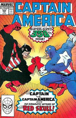 Captain America #350 (February 1989): Rogers a...