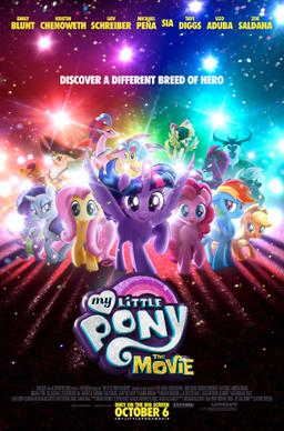 My Little Pony The Movie Poster shared by medianet.info