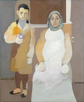 Arshile Gorky, The Artist and His Mother, 1926-36, Whitney Museum of Art