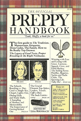 Cover of The Official Preppy Handbook