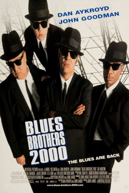 The poster for Blues Brothers 2000