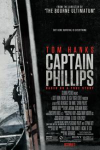 Poster for 2013 thriller Captain Phillips