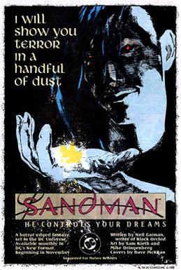 "The Sandman was advertised as ""a horror-e..."