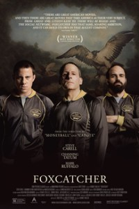 Poster for 2015 true crime drama Foxcatcher