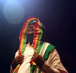Mahmoud Ahmed, an Ethiopian singer of Gurage a...