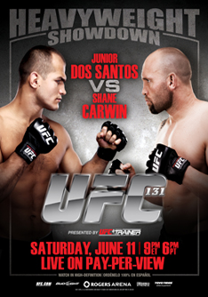 Junior Dos Santos vs. Shane Carwin