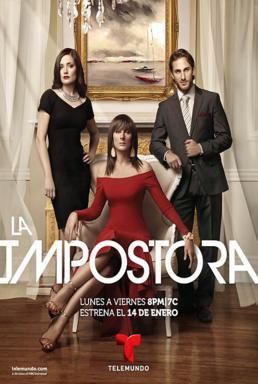 Poster do filme A Impostora