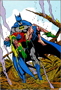 """Interior art of Batman #428 (1988): """"A De..."""