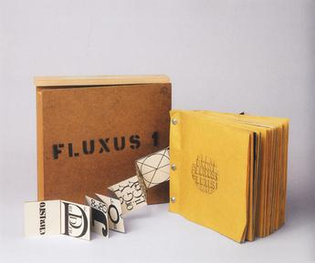 A Fluxus 1 yearbox assembled by George Maciunas c.1964