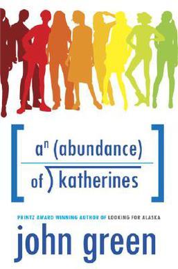 An Abundance of Katherines, AAOK, John Green novel, young adult novels,