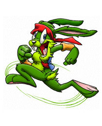 Jazz Jackrabbit, the titular character of the ...