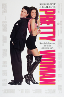 Film poster for Pretty Woman - Copyright 1990,...
