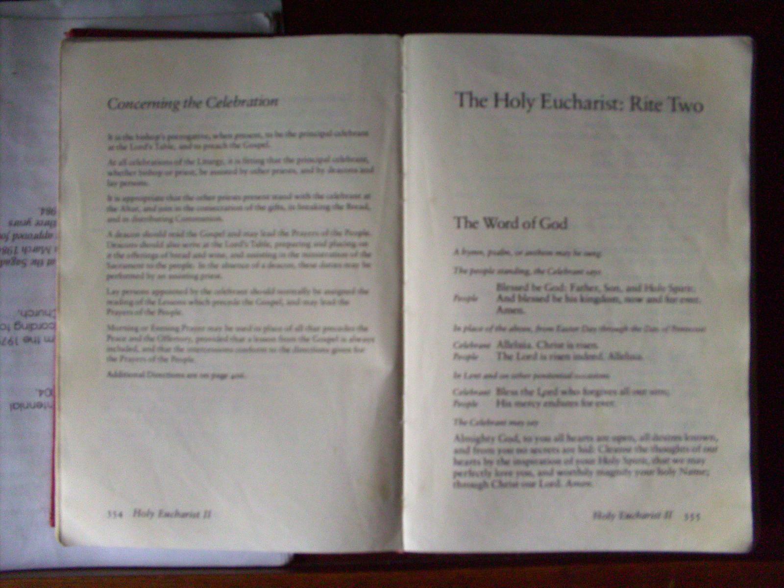 File Book Of Common Prayers In A Church In Sagda