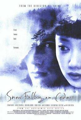 Film poster for Snow Falling on Cedars - Copyr...