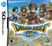 Dragon Quest IX Sentinels of the Starry Skies box art