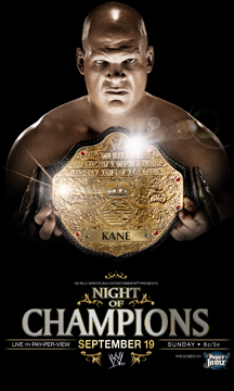WWE Night of Champions 2010 PPV Poster
