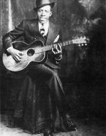 Robert Johnson's studio portrait, circa 1935—o...