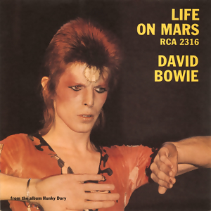 Life On Mars, Bowie single