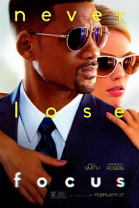 Poster for 2015 crime thriller Focus