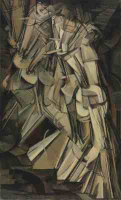 Marcel Duchamp. ''Nude Descending a Staircase, No. 2'' 1912