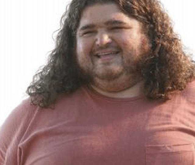 Hugo Hurley From Lost Showing That A Fat Male With Long Hair Is Not Attractive To