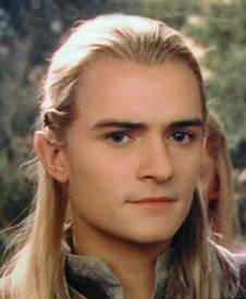 The archer Legolas Greenleaf, here portrayed b...