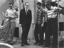 The quartet in 1959 during the Time Out sessio...