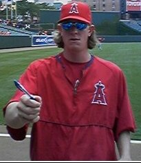 Jered Weaver (2004) was drafted twelfth overal...