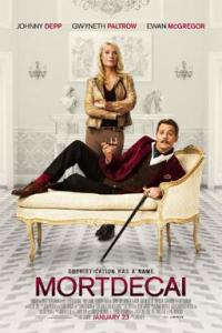 Poster for 2015 caper comedy Mortdecai