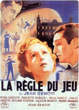 Poster for ''La Règle du jeu, directed by Jean...