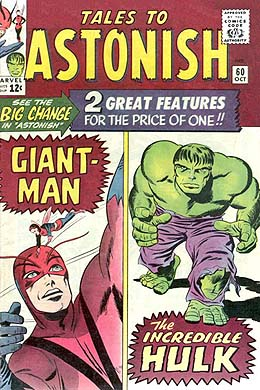 Tales to Astonish #60 (Oct. 1964). Cover art b...