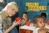 World Hunger Relief 2010 Christina Aguilera